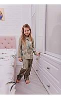 """Пижама верона """"северные мишки"""" размер 116 Mililook"""