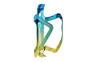 Флягодержатель GUB 08 AL синьо-золотистий