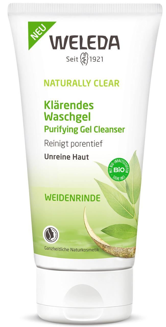Гель Weleda Naturally Clear очищающий для лица 100 мл