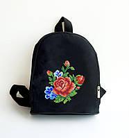 Рюкзачек пошитый под вышивку Роза нежность