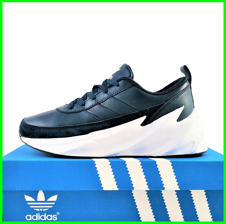 Кроссовки Adidas $harks Мужские Адидас Синие Акула (размеры: 41,42,43,44,45,46) Видео Обзор
