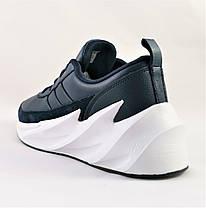 Кроссовки Adidas $harks Мужские Адидас Синие Акула (размеры: 41,42,43,44,45,46) Видео Обзор, фото 3