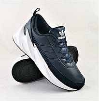 Кроссовки Adidas $harks Мужские Адидас Синие Акула (размеры: 41,42,43,44,45,46) Видео Обзор, фото 2