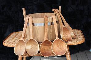 Черпак в сауну деревянный
