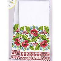 Схема для вышивки бисером (нитками) рушник свадебный