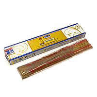 Natural Jasmine(Натуральный Жасмин)(15 gm) (12 шт/уп)(Satya) пыльцовое благовоние