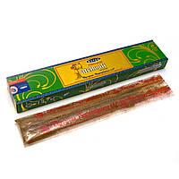 Natural Patchouli(Натуральный пачули)(15 gm) (12 шт/уп)(Satya) пыльцовое благовоние