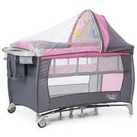 Детская кровать-манеж MOOLINO HAPPY+Колыбель, фото 1