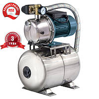 Насосная станция нержавейка FORWATER (Grand Water) JET 100S 1.1 кВт + 3 года гарантии + полный комплект