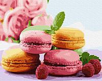 Картина рисование по номерам Rainbow Art Легкий десерт BK-GX34667 40х50 см Для кухни набор для росписи краски,