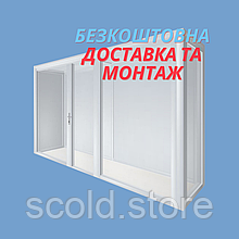 Цветочная витрина SCold PreF-5