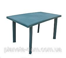 Стол пластиковый Velo зелёный