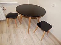 Кухонний комплект меблів стіл та табурети Zooty