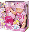 Лялька Baby Born Бебі Борн дівчинка Ніжні обійми чарівна малятко Zapf Creation 824368, фото 2
