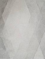 Обои виниловые на флизелине горячего тиснения Marburg Shades полосы зигзаг с эффектом старения серые белые