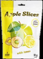 Слайсы яблочные сушеные с лимоном Spektrumix™ Apple Slices (50 грамм)