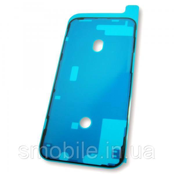 Стикер влагозащитный iPhone 12 Pro Max двухсторонний скотч под дисплейный модуль, черного цвета