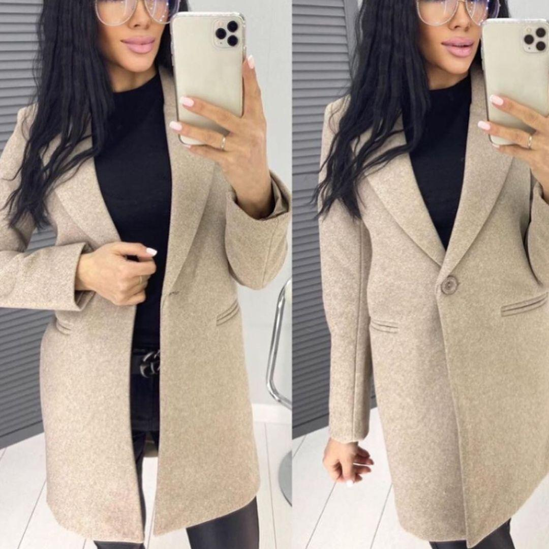 Пальто жіноче, турецький кашемір на підкладці, р-р С-М; М-Л (мокко)