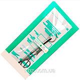 Крафт пакеты Медтест комбинированные (бумажные/полупрозрачные), 100х200 мм, 100 шт, фото 3