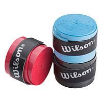 Обмотка для ракетки Wilson StrongGrip, 3шт в упакуванні