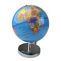 Глобус 14,2 см диаметр Колір: Синій., фото 1