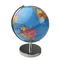 Глобус 25 см диаметр Колір: Синій.