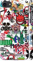 "Чехол на Apple iPhone 7 Many different logos ""4022c-336-44506"""