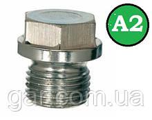Заглушка DIN 910 M18x1.5 A2