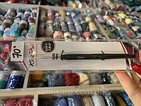 Гачок Knit Pro з чорною ручкою №0,5, фото 1