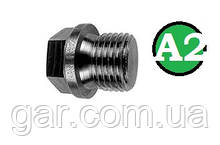 Заглушка DIN 910 M26x1.5 A2