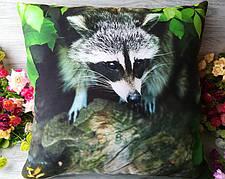 Подушка декоративна Єнот 2, 45 см * 45 см