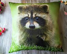 Подушка диванна декоративна Єнот 3, 45 * 45 см