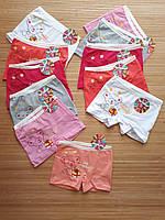 Трусы -боксеры для девочек 4-5 лет.  Нижнее белье для детей. Оптом. Турция
