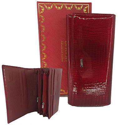 Классический кожаный женский кошелек Balisa B515H-7 red