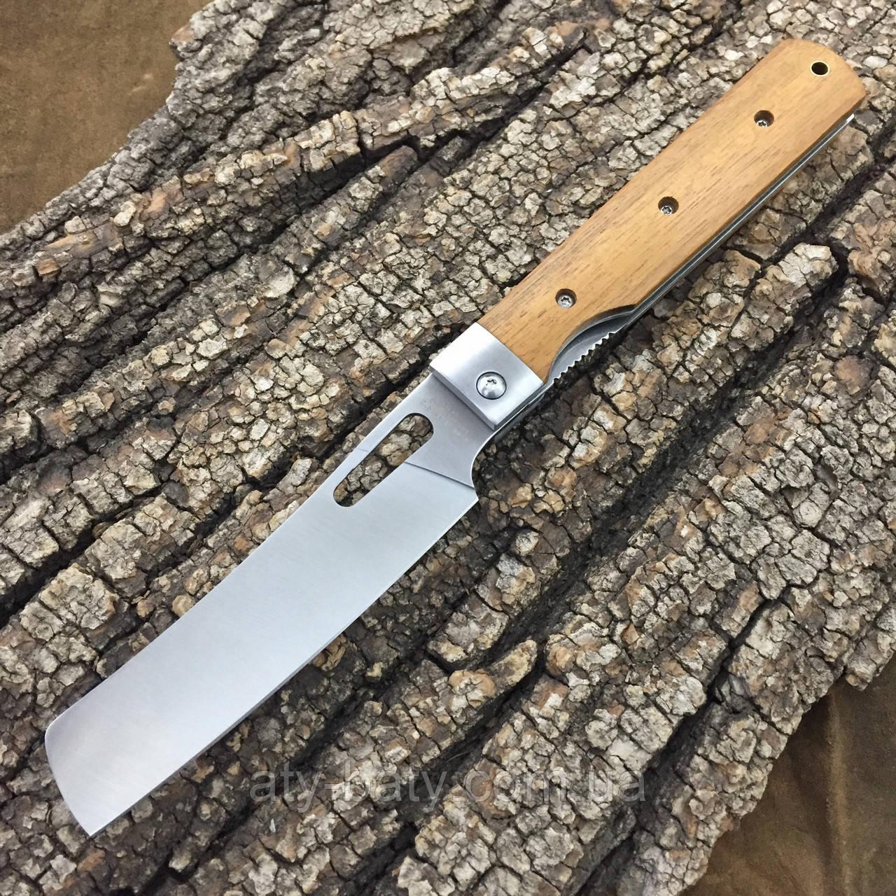 """Нож складной C.Jul Herbertz """"Складной Шеф"""" Wood"""