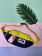 Поясная сумка The North Face. Бананка на пояс. Мессенджер через плечо, фото 2