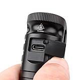 Налобный мощный фонарь WURKKOS Sofirn HD20+5000mAh Аккумулятор Lii-50E (2000LM, USB Type-C, Магнит, NW, 21700), фото 6