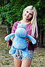 Плюшевий Бегемот Бадді 50 см, фото 2