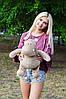 Плюшевий Бегемот Бадді 50 см, фото 4