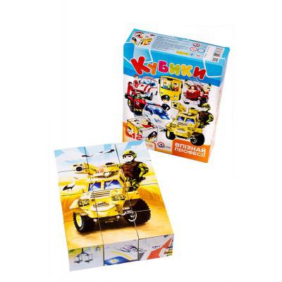 Іграшка кубики ТехноК Впізнай професії 3725