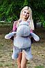 Плюшевий Бегемот Бадді 75 см, фото 5