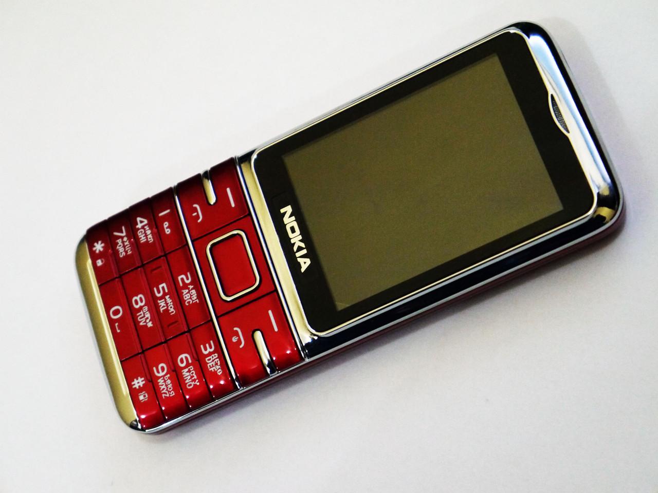 Телефон Nokia L300 Красный - 2Sim+Bluetoth+Camera