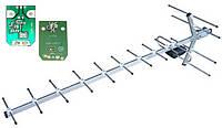 Т2 антенна Волна 1-11 Цифра с усилителем Eurosky SWA-105, фото 1