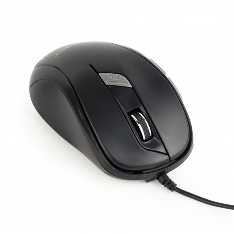 Миша Gembird MUS-6B-01 Black USB