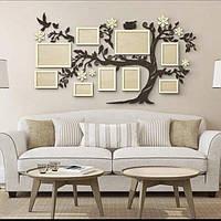 Семейное дерево для фотографий / семьи / фоторамка / картина / композиция / коллаж / подарок / семейная