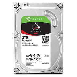 Жесткий диск винчестер HDD SATA 2.0TB Seagate IronWolf NAS 5900rpm 64MB (ST2000VN004)