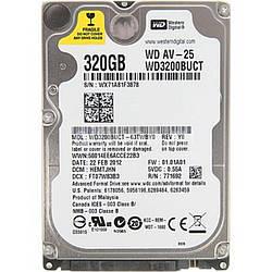 "Жесткий диск винчестер HDD 2.5"" SATA  320GB WD AV-25 5400rpm 16MB (WD3200BUCT) Refurbished"