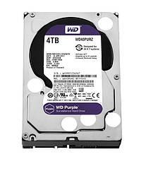 Жесткий диск винчестер HDD SATA 4.0TB WD Purple 5400rpm 64MB (WD40PURZ)
