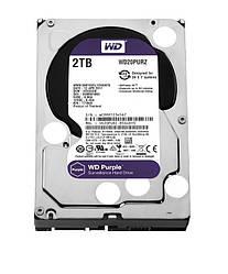 Жесткий диск винчестер HDD SATA 2.0TB WD Purple 5400rpm 64MB (WD20PURZ)