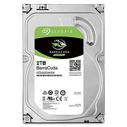Жесткий диск винчестер HDD SATA 2.0TB Seagate BarraCuda 256MB (ST2000DM008)